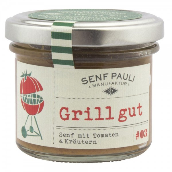 "Senf ""Grill Gut"""