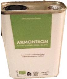 """BIO Olivenöl """"Armonikon"""""""