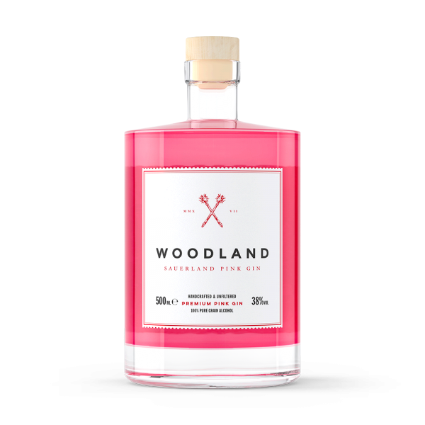 Woodland Pink Gin (Mini)