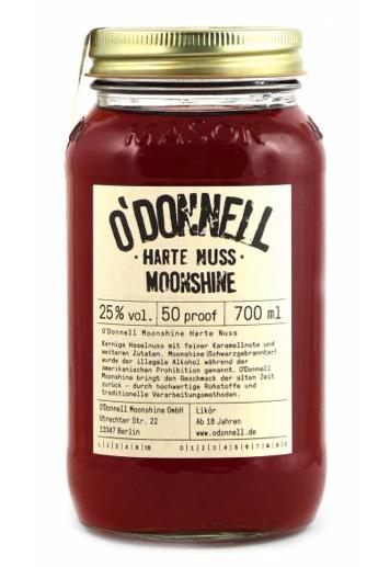 "O'Donnell Moonshine ""Harte Nuss"" Likör"