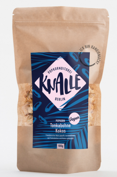 "Popcorn ""Tonkabohne Kokos"" (vegan)"