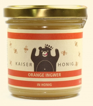 Orange Ingwer Honig