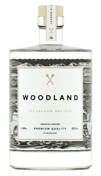 Woodland Dry Gin Mini