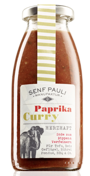 Paprika & Curry Fruchtsauce